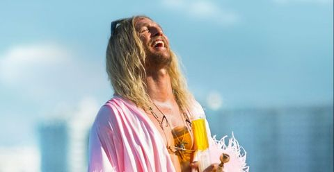 Hair, Blond, Beauty, Fun, Water, Happy, Surfer hair, Summer, Long hair, Vacation,