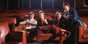 The Beatles durante la promoción de su disco Yellow Submarine
