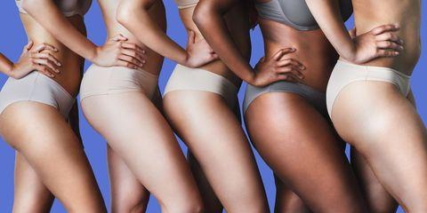 White stuff in girls underwear