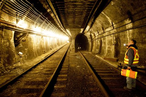 unused mbta tunnels sit dormant underground