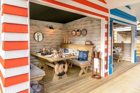 the berkley beach huts  best restaurant terraces