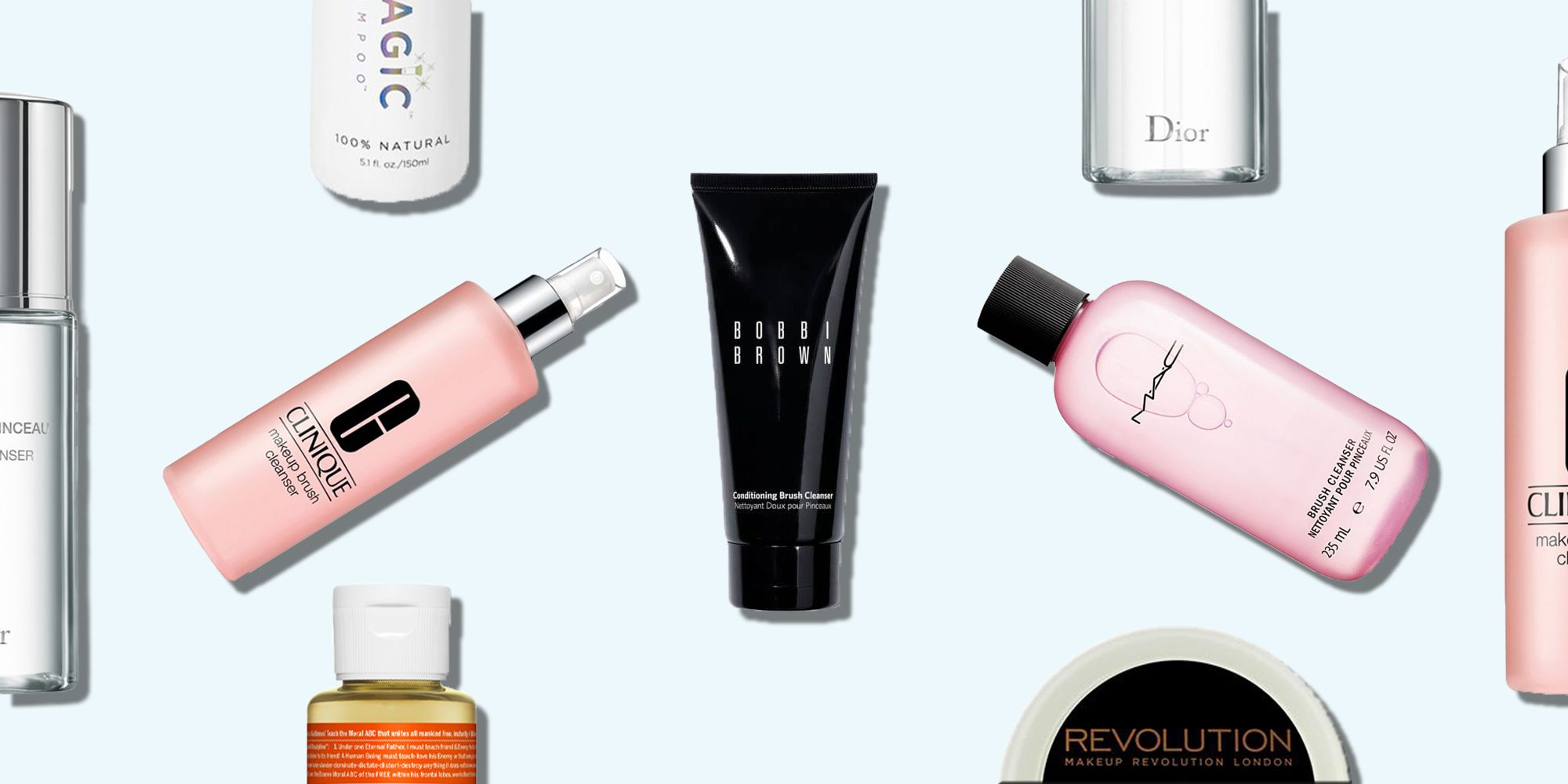 12 Of The Best Make-Up Brush Cleaners