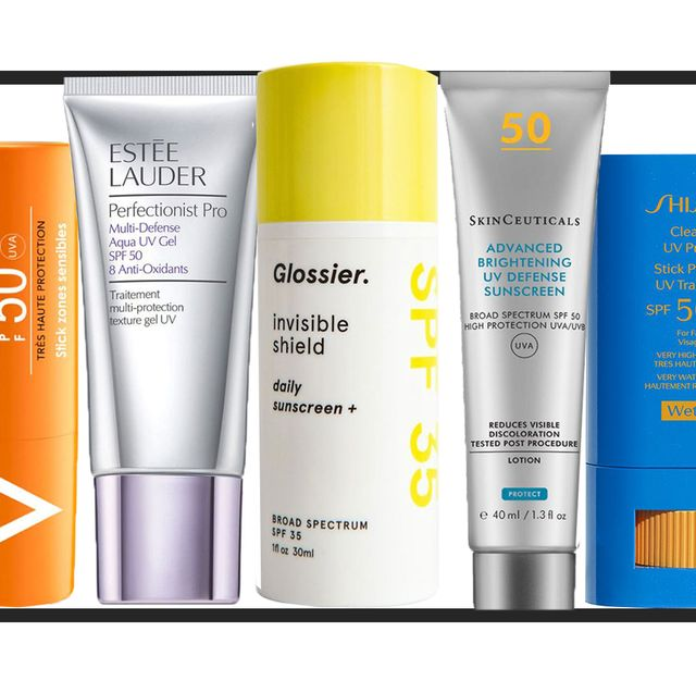 the best clear facial sunscreens