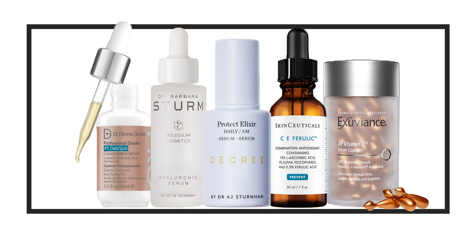 The best face serum for every skin concern