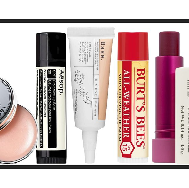 the best lip balms with spf