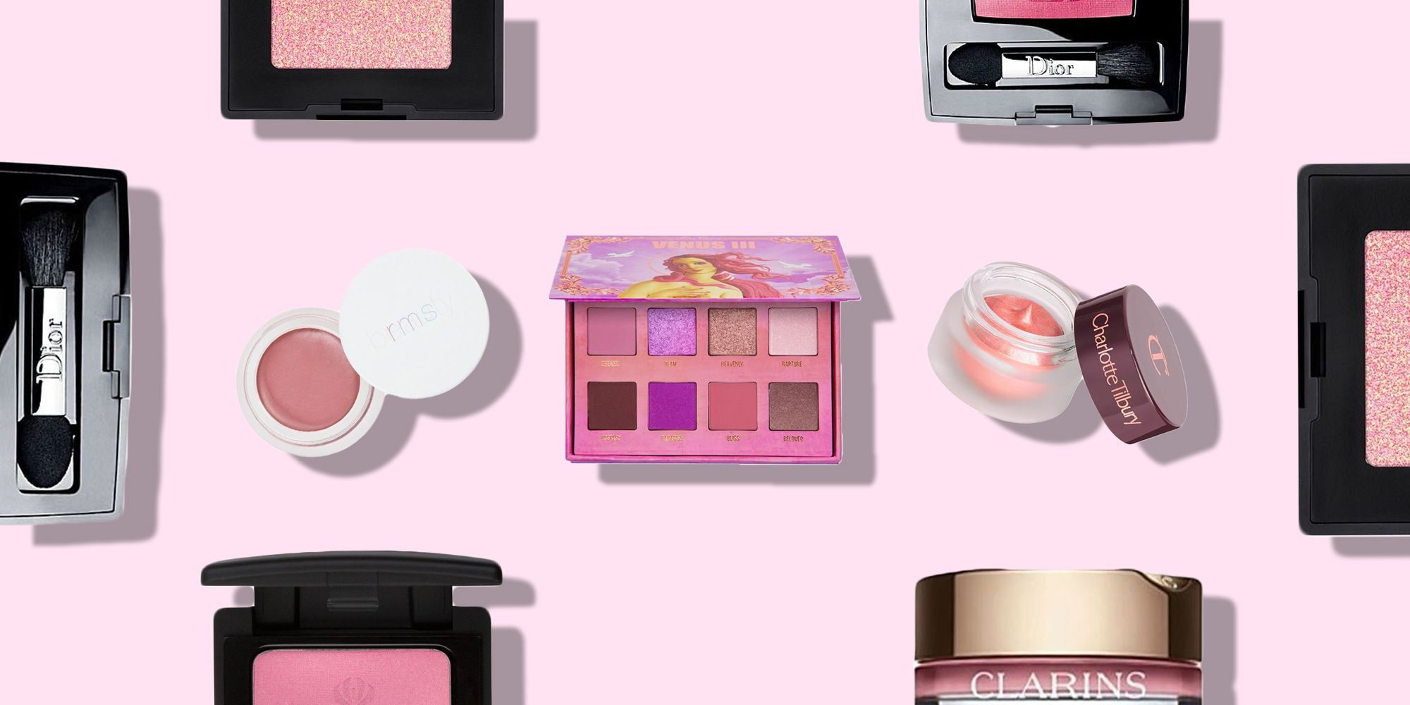 The Best Pink Eyeshadows For A New Romantic Makeover
