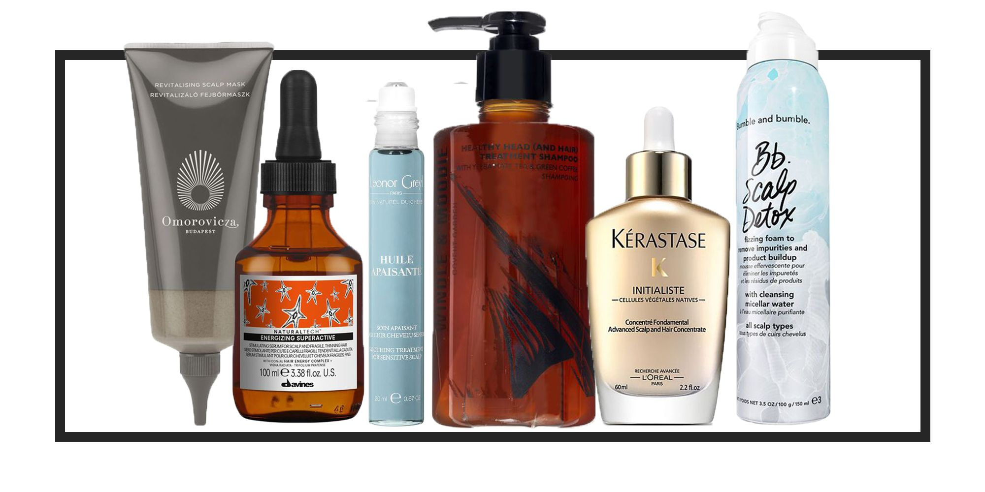 The best products for a healthy scalp