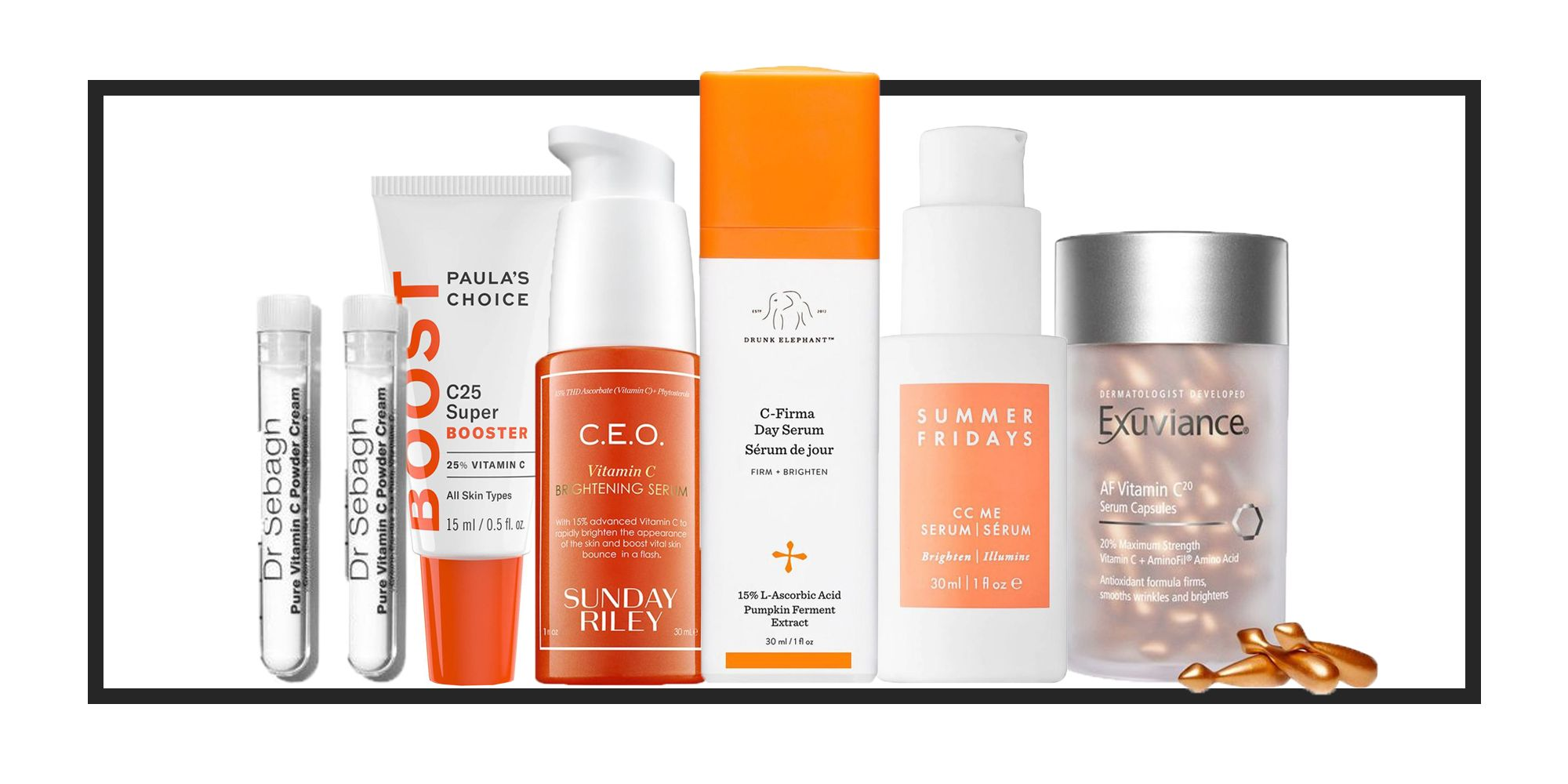The 10 best vitamin C serums, treatments and creams