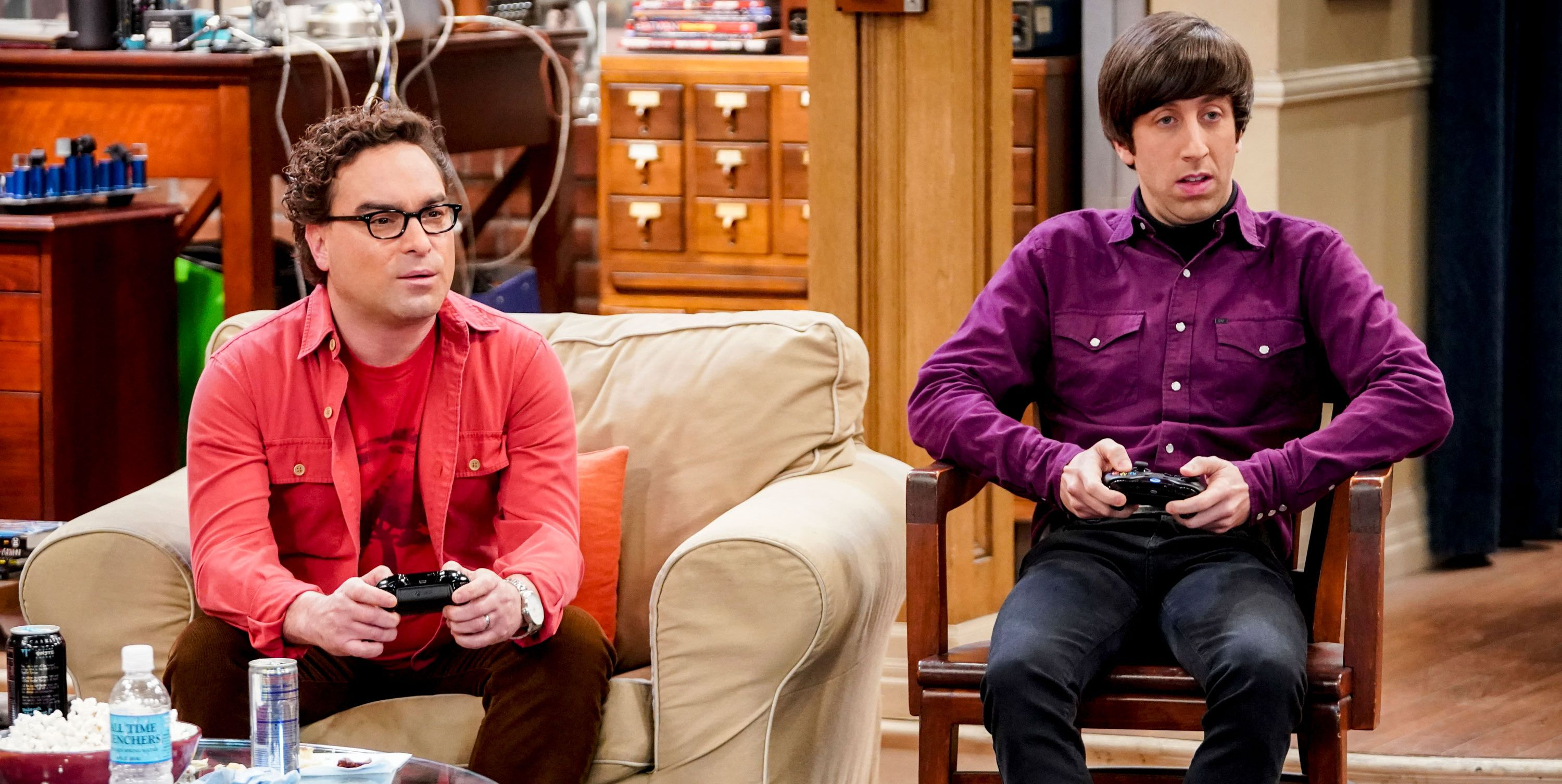 The Big Bang Theory, Johnny Galecki, Simon Helberg