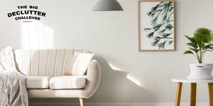 The Big Declutter Challenge - living room