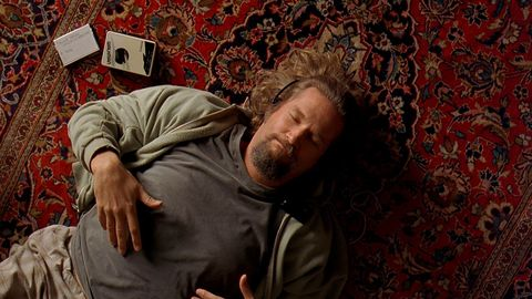 The Lebowski Rug That Really Tied