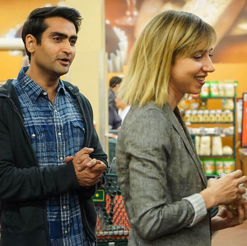 The Big Sick This romantic comedy stars Kumail Nanjiani and Zoe Kazan as a couple whose rocky relationship is complicated by her sudden, potentially fatal illness—a premise based on Nanjiani and wife/co-writer Emily Gordon's own story.