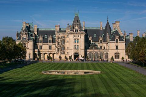 large biltmore mansion inAsheville