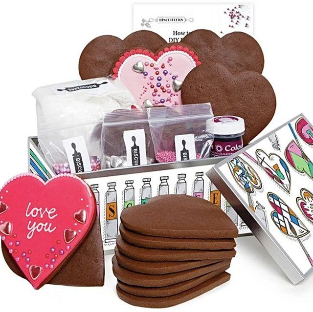 the biscuiteers valentine's day activity diy date night biscuits