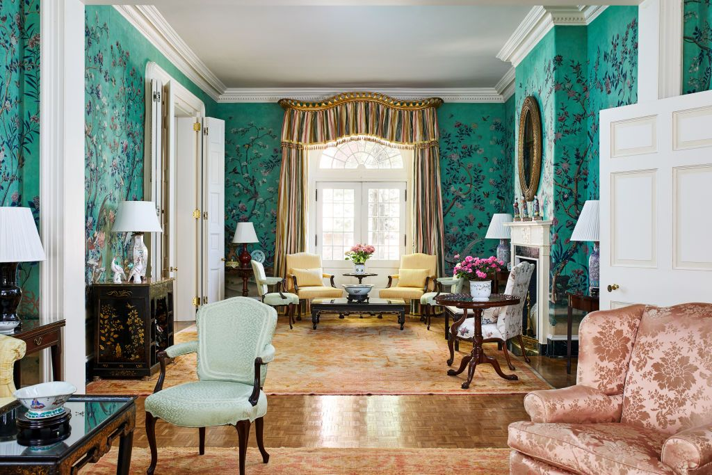 Inside Blair House, the President's Guest House, With Interiors Designed by  Mario Buatta and Mark Hampton