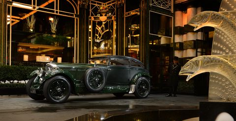1930 bentley speed six gurney nutting blue train special coupe
