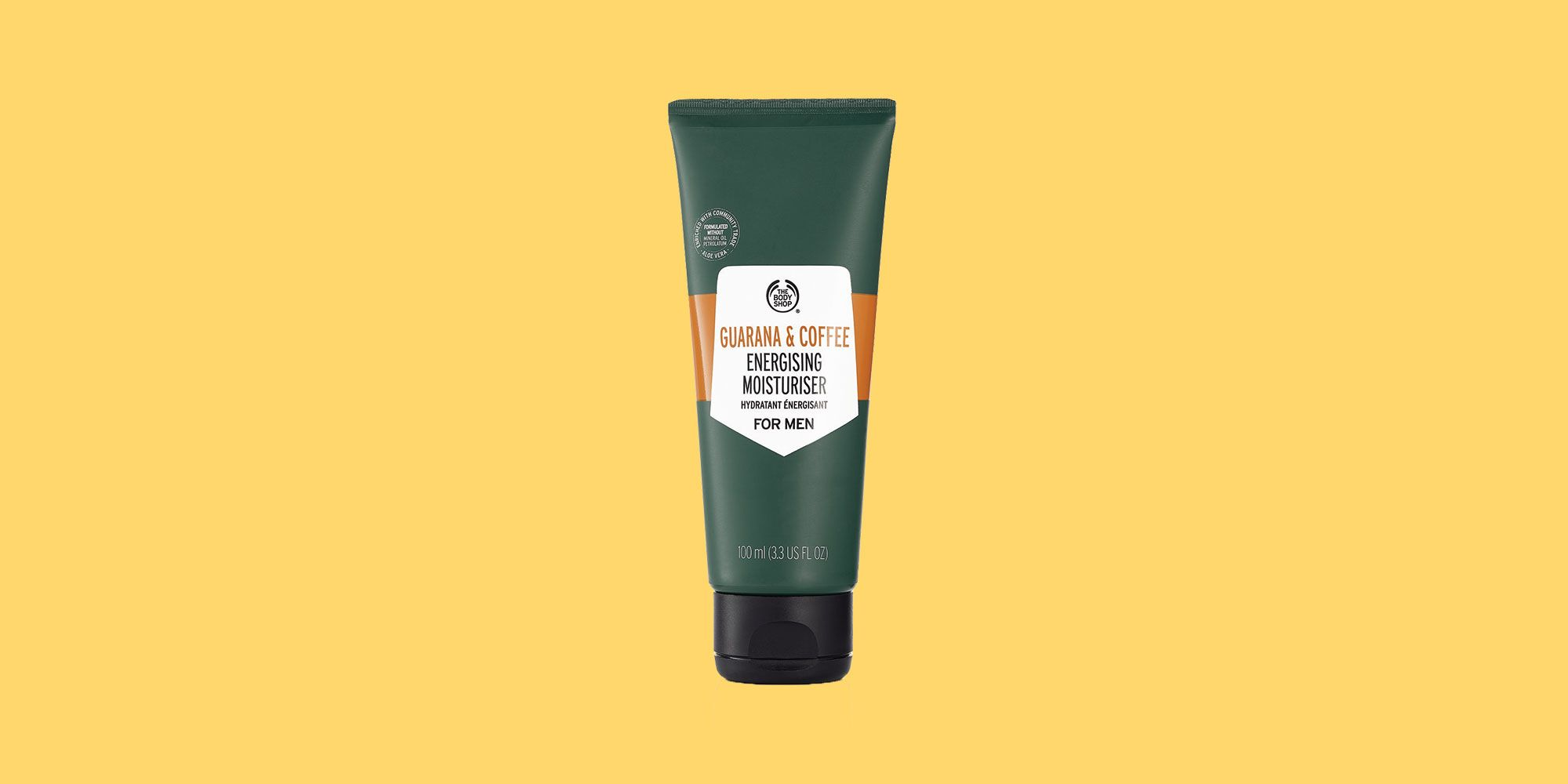 The Body Shop Guarana And Coffee Energising Moisturiser For Men Review