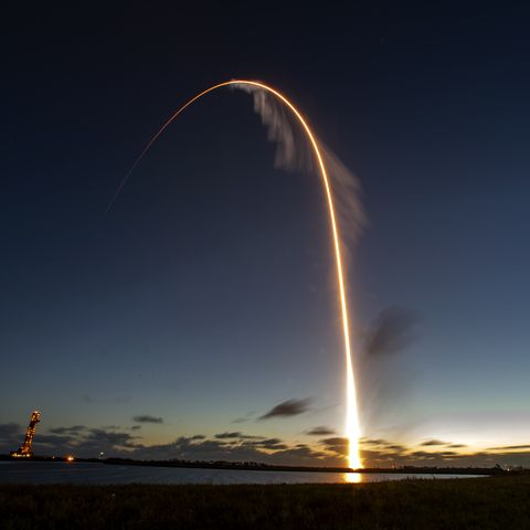 Boeings Orbital Flight Test (OFT) to the International Space Station, as part of NASAs Commercial Crew Program, launched at  6:36 a.m. EST Friday, Dec. 20. The uncrewed flight test will be the Boeing CST-100 Starliners maiden mission to the space station