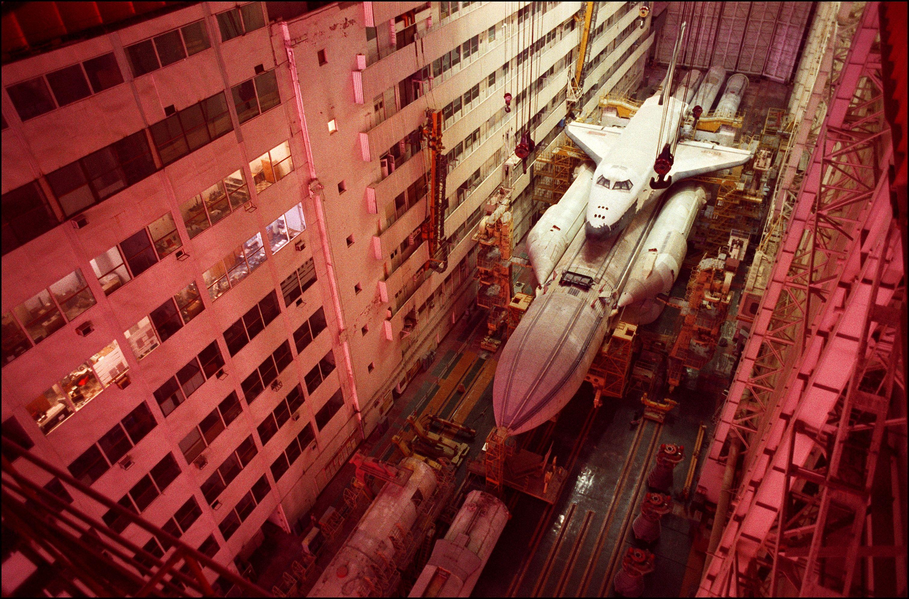 самые большие космические ракеты