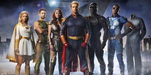 the boys amazon serie heroes