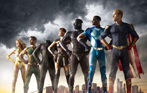 todos los superheroes de la temporada 2 de the boys
