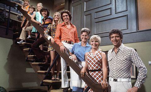 """The Brady Bunch"" Florence Henderson, Robert Reed / Mike and Carol Brady"