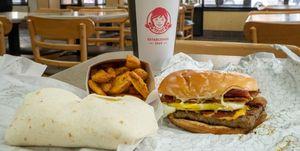 Wendy S Unveiled The New Pretzel Bacon Pub Cheeseburger