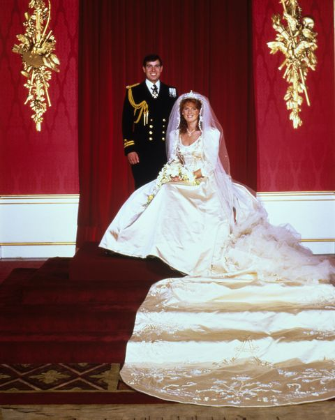 Sarah Ferguson And Princess Diana Had Other Royal Wedding Dresses