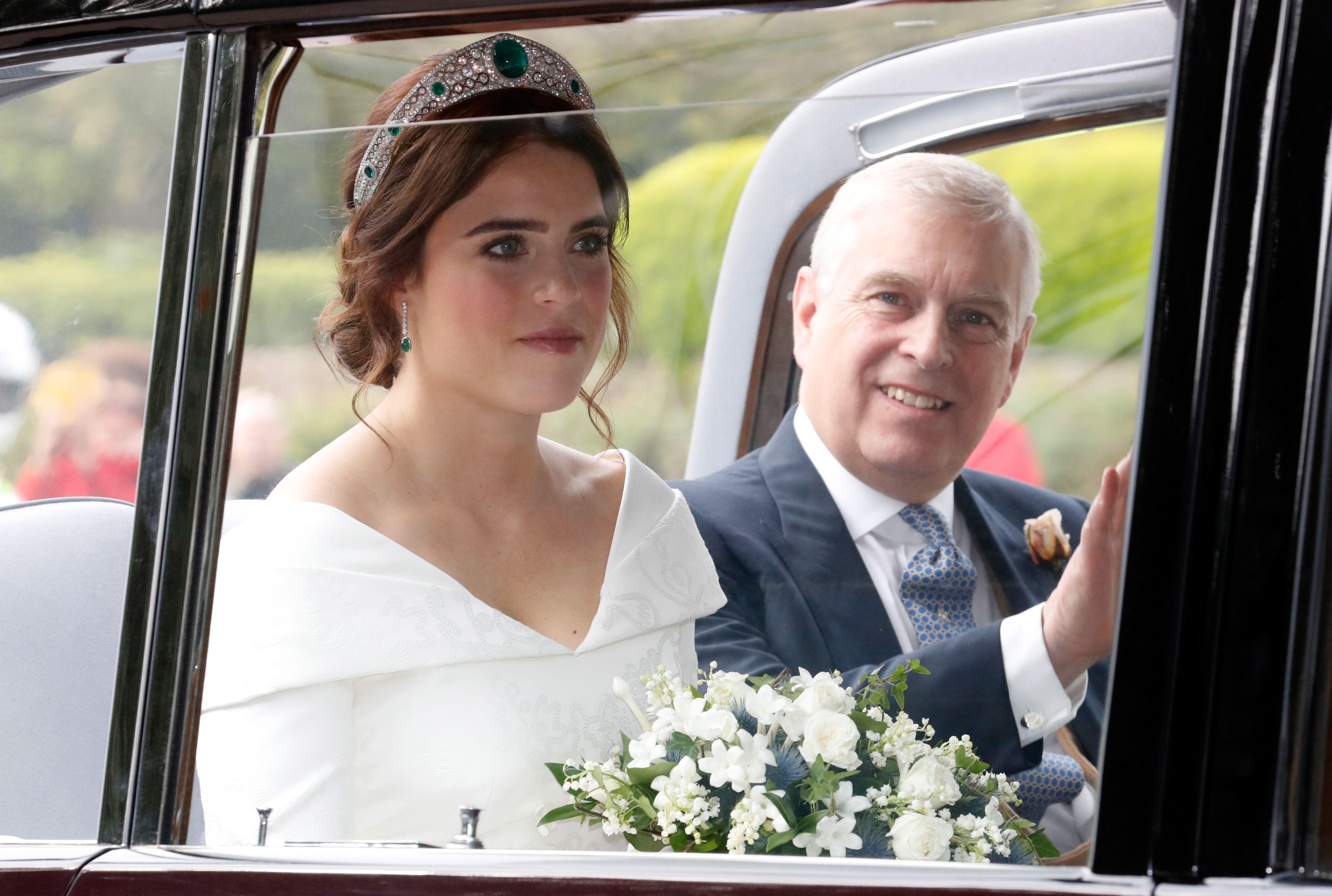 a7e6e553ba2 Princess Eugenie Royal Wedding Tiara Photos   Details - See the Tiara  Eugenie Chose for Her Wedding