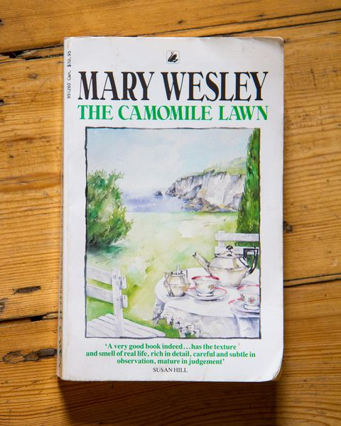 the camomile lawn by mary wesley paperback front cover