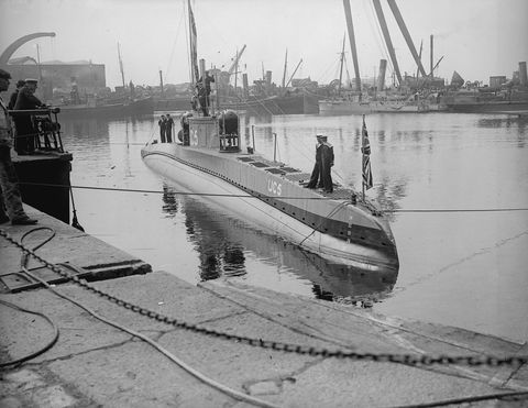 Captured U-Boat