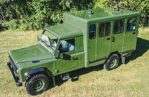 Land Rover Defender of Prince Philip 130