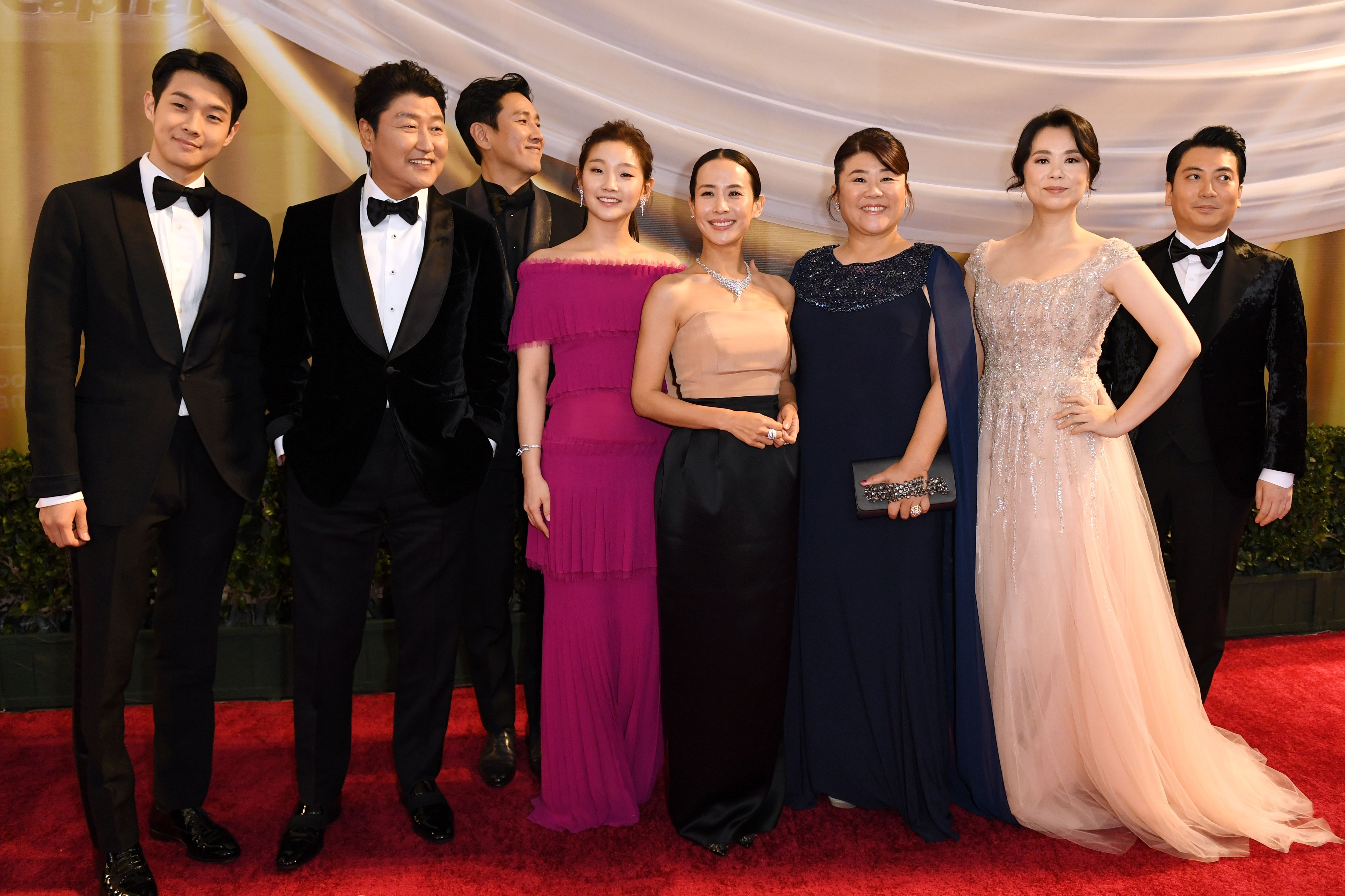 What The Parasite Cast Wore To The 2020 Academy Awards