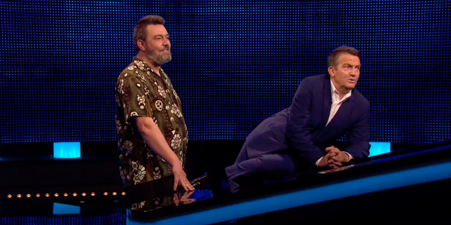 The Chase's Bradley Walsh in Bloopers clip