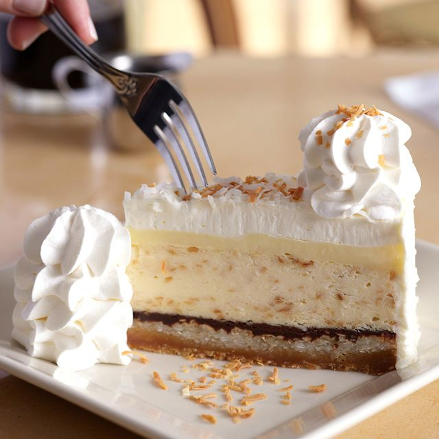 the cheesecake factory coconut cream pie cheesecake
