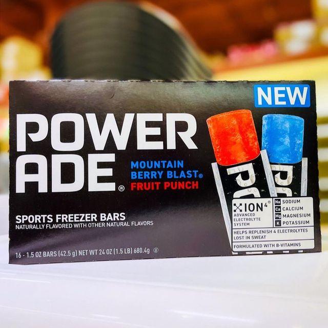 the coca cola company jel sert powerade sports freezer bars