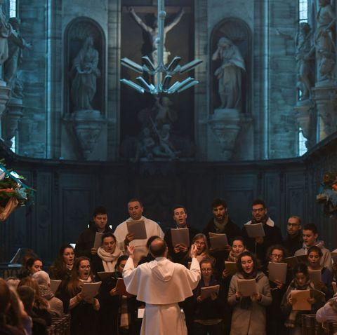 spiritual concert in mondaye abbey