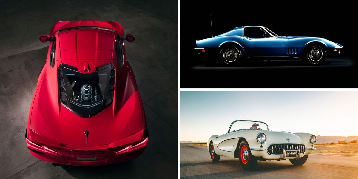 Complete History of the Chevy Corvette: From C1 to C8