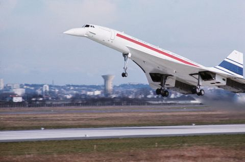 Concorde's First Flight
