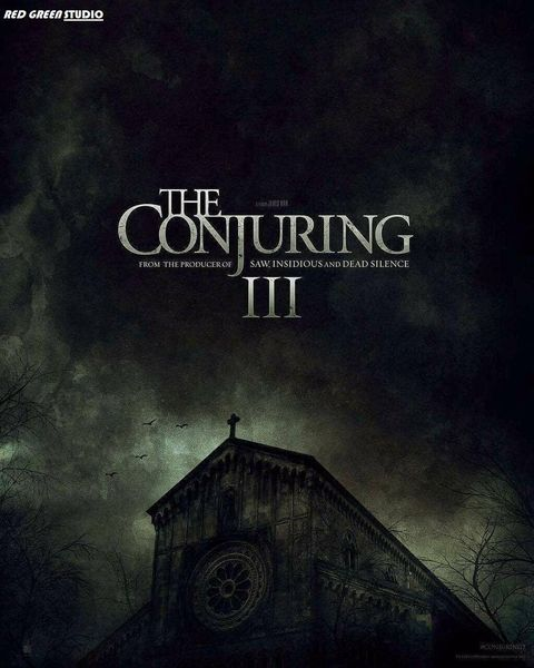 The Conjuring 3 poster / Expediente Warren 3 poster