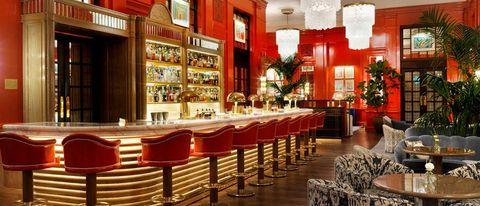 Bar at the Bloomsbury Hotel