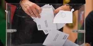 Elecciones generales 2019. Behobia-San Sebastián.