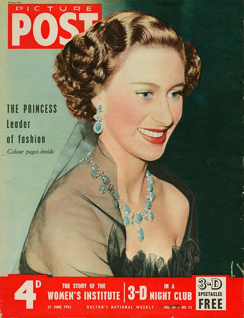 princess margaret on picture post cover