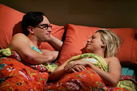 Penny and Leonard The Big Bang Theory