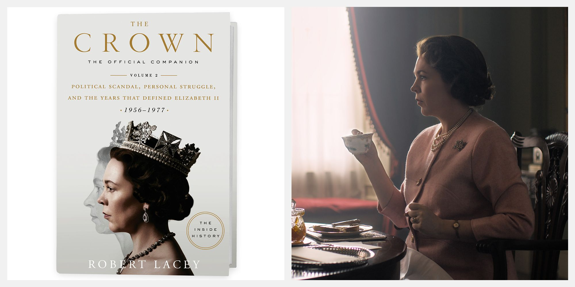 An Exclusive First Look at the Official Companion Book for The Crown's Third Season