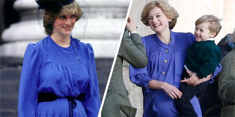 The Crown S Emma Corrin Is The Actual Double Of Princess Diana