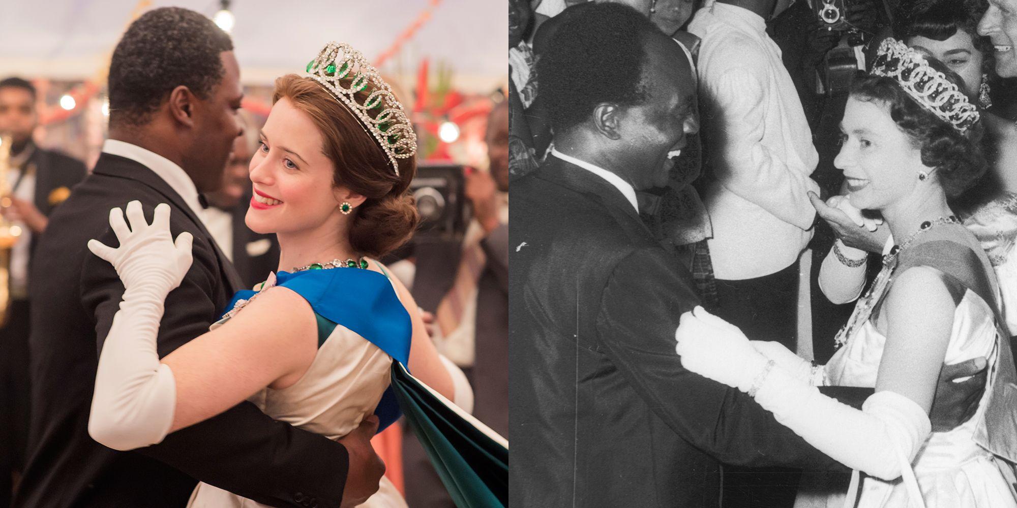 Queen Elizabeth II (seasons 1 and 2)
