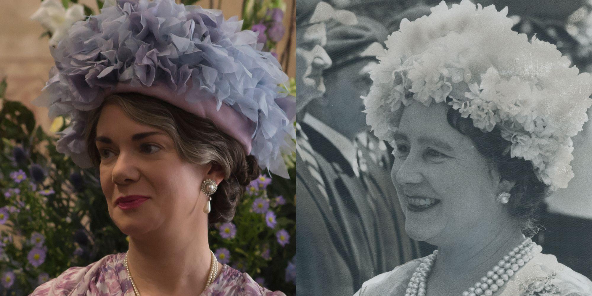 queen mother the crown