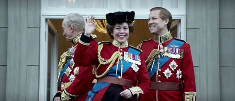 the crown series 4, real life royal photos