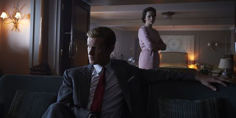 Matt Smith, Claire Foy, The Crown, season 2